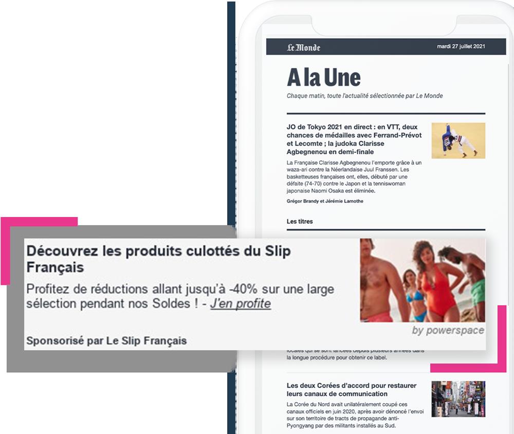 newsletter-LeMonde-native-ads